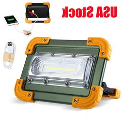 100000lm COB LED Work Light Rechargeable Inspection Flashlig