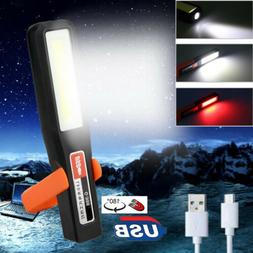 10W White LED COB Work Light Inspection Magnetic Work Lamp A