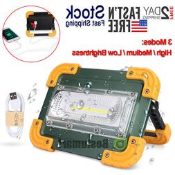 1000000lm COB LED Work Light Rechargeable Inspection Flashli