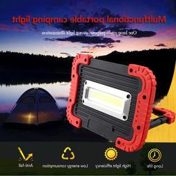 COB LED Working Work Light Waterproof USB Rechargeable Emerg