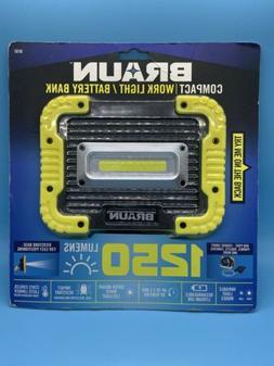 Braun Compact Work light/Battery Bank 56163