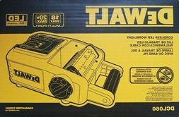 DEWALT DCL060 18 Volt 20 Volt MAX CORDLESS LED WORK LIGHT AR