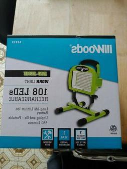 Eco Zone Led Work Light L1306 108-LED Portable Bright Eco Li