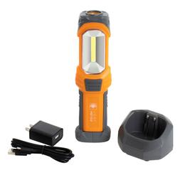 Helios Portable LED Rechargeable 300 Lumen Work Light with C