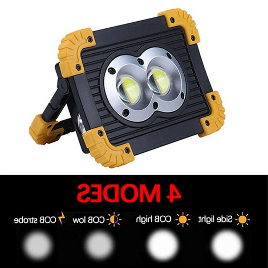 50000LM LED Work Lights Light with USB Built-in