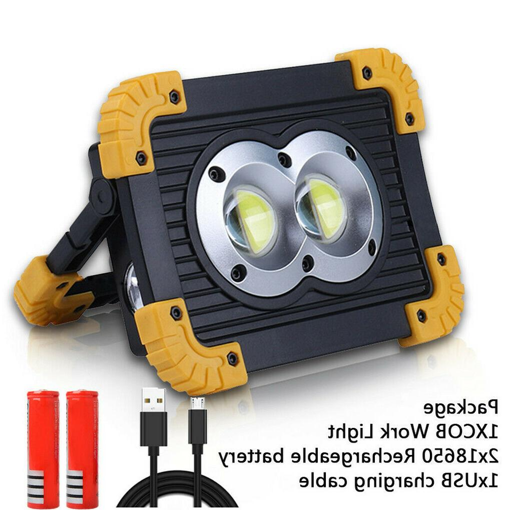 50000LM Rechargeable Work Lights Flood with USB