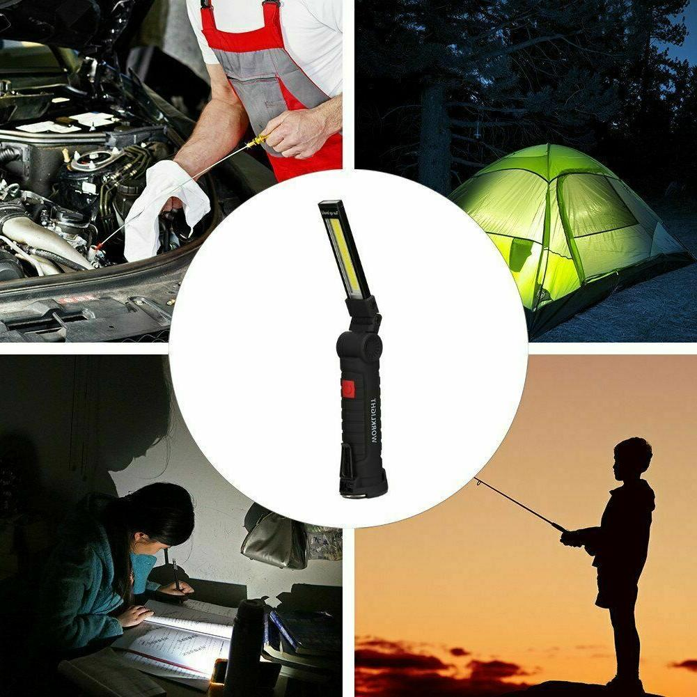 Magnetic Rechargeable RED Light