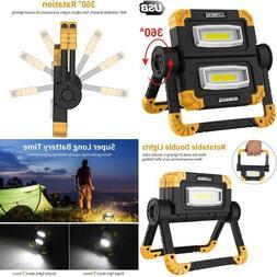 Runacc Led Work Light Usb Rechargeable Folding Portable Wate