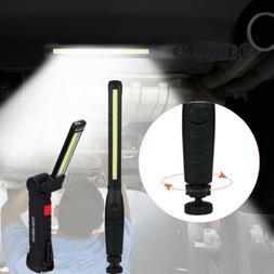 Multifunction COB LED Work Light 20lb Magnet Car Garage Emer