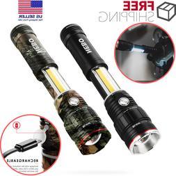 NEBO Flashlight Slyde King 2 Work Light 500 Lumen LED Rechar