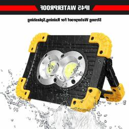 Ultra Bright 80,000LM COB LED Work Light Rechargeable Emerge