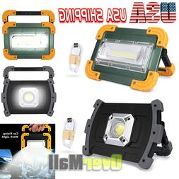 Ultra Bright 100000LM COB LED Work Light Rechargeable Emerge