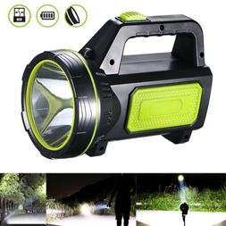 USB Rechargeable LED Work Light Searchlight Handheld Spotlig