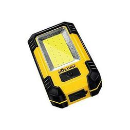 WARSUN Portable LED Rechargeable Work Light,Magnetic Base &